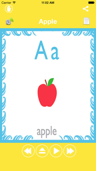 ABC Words Learning For Kids-An educational learning app for toddlers kids babies and kindergarten to