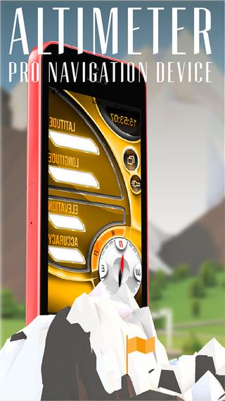 Altimeter Compas Flashlight Pro