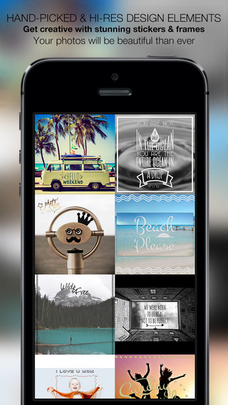 Type Over Photo - Typography Calligraphy Design Studio : Artwork sticker and text editor