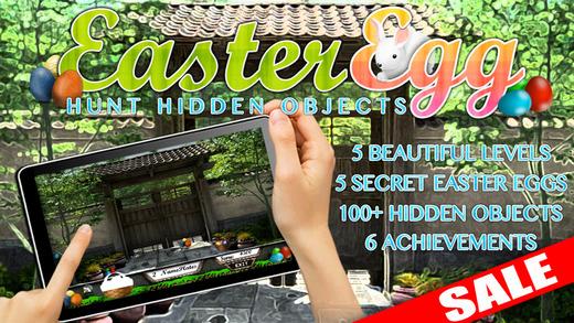 Secret Easter Egg Hunt Hidden Objects Game iPad Edition