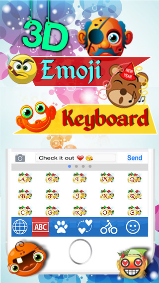 Emoji Keyboard 3D