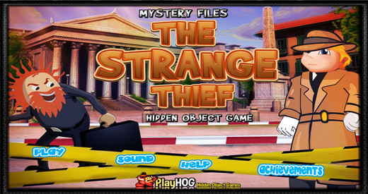 Mystery Files - Strange Thief - Free Hidden Object Games