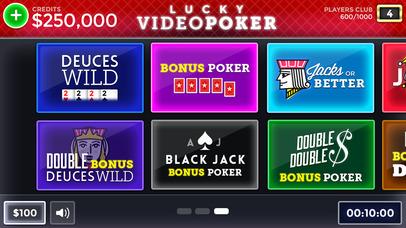 Screenshot 4 Лаки Видео Покер — бесплатно Видео Покер Обучение и моделирование