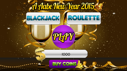 A Aabe New Year 2015 Slots and Blackjack Roulette
