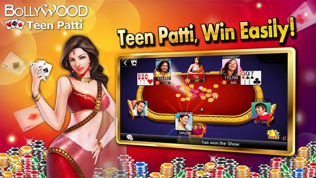 Teen Patti - Bollywood 3 Poker