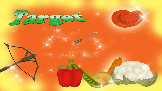 Vegetables Hit Magical Target Game