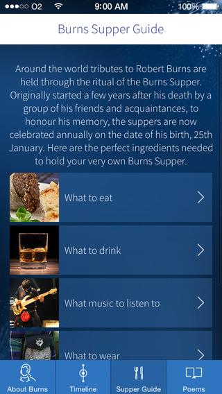 The Works of Robert Burns iPhone Screenshot 3
