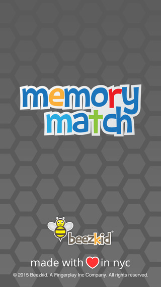 Memory Match - Fun matching game for preschooler and toddlers kids for free