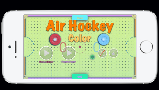 Air Hockey - Color