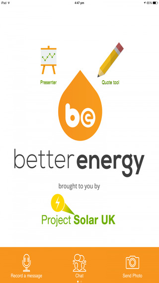 Project Solar introducing Better Energy