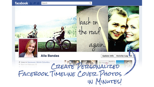 Timeline Cover Photo Maker Pro - Design and create your own custom Facebook profile page covers that