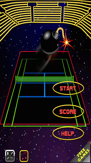 Space Tennis Championship - Touch And Hit The Bombs In The Space 3 FREE by The Other Games