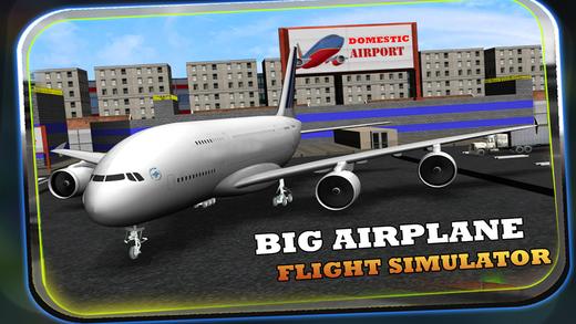 Big Airplane Flight Simulator - Infinite Flying Adventure