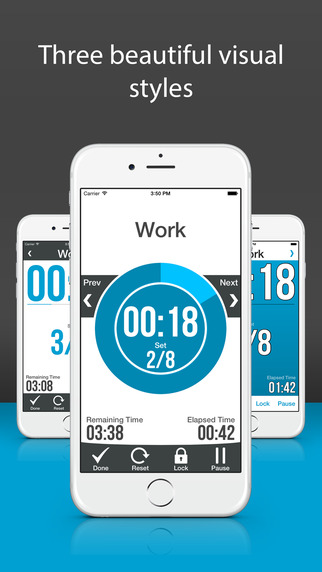 玩免費健康APP|下載Workout Interval Timer Pro - with Heart Rate Training Support app不用錢|硬是要APP