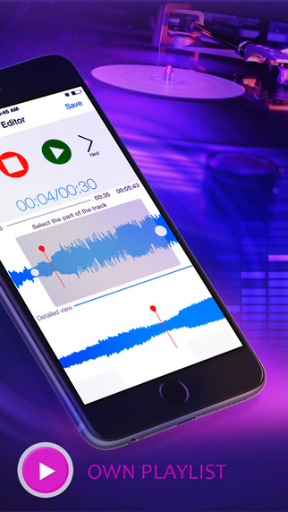 Ringtone Maker Pro - Make unlimited ringtones for iPhone iOS8