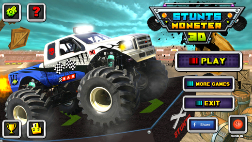 Stunt Monster 3D