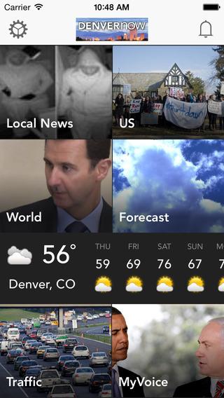 DENVERnow: Denver Colorado Breaking News Weather Sports Snow report Jobs - Free App