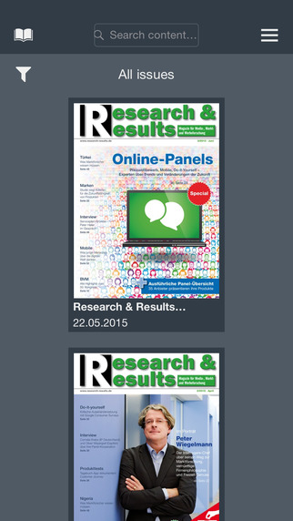 Research Results Magazine