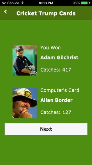 Cricket Trump Cards