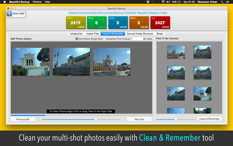 Beautiful Backup Screenshot - 5