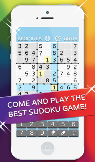 Sudoku Game - Download and Play Fun Puzzles as in the Daily Mail from Beginner to Fiendish