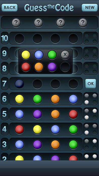 Crack the Code Free iPhone Screenshot 1