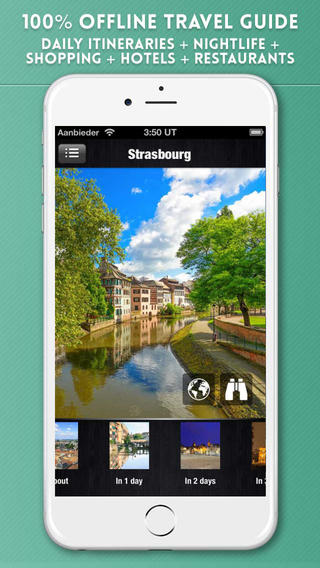 Strasbourg Travel Guide with Offline City Street Maps