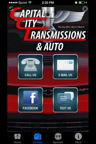 Capital City Transmission screenshot 3