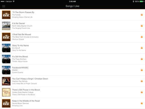 KNVBC Radio for iPad iPad Screenshot 5