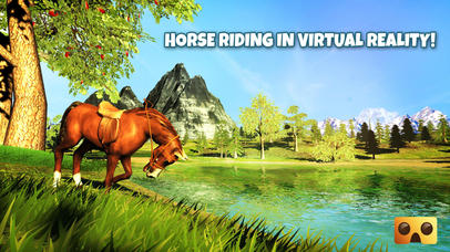 VR Horse Riding Simulator : VR Game for Google Cardboard screenshot for iPhone