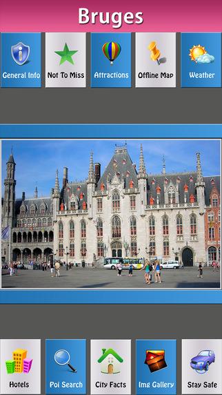 Brugge Offline Map Travel Explorer