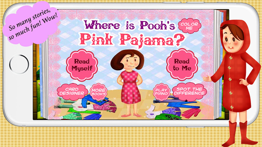 Where is Pooh's Pink Pajama by Story Time for Kids