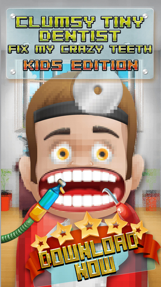 Aaah Clumsy Tiny Dentist Fix My Crazy Teeth - PRO Kids Edition