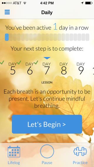 Mindfulness Daily - 每日正念[iOS]丨反斗限免