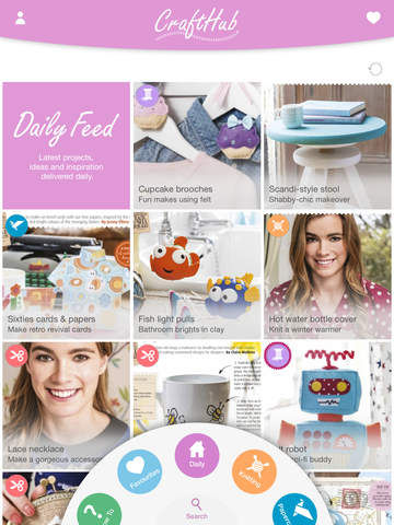 CraftHub - Your home for the latest crafting inspiration projects patterns and how to's
