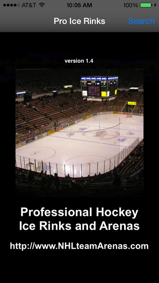 Pro Hockey Teams Arenas Ice Rinks