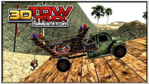 3D Tow Truck Simulator