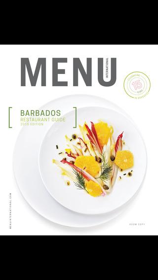 Menu International - Restaurant Guide - Barbados