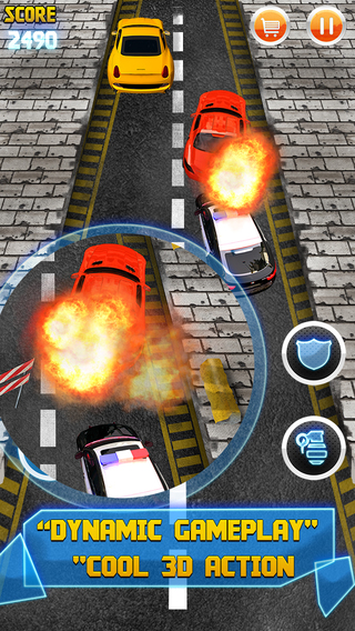 Absolute Chase Tactical Cop Nitro Rush Challenge