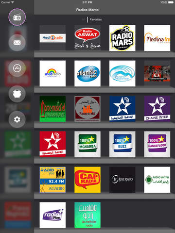 radios maroc le meilleur de la radio marocaine on the app store. Black Bedroom Furniture Sets. Home Design Ideas