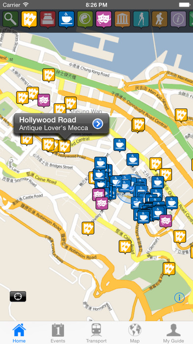 Hong Kong Travel Guide Offline iPhone Screenshot 2