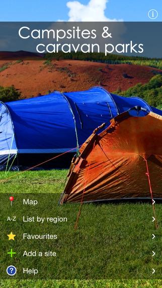 Campsites and caravan parks