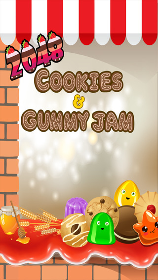 Cookie Gummy Jam 2048 Edition- Sugar Rush Time Smash FREE