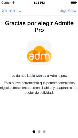 Admite Pro Mobile