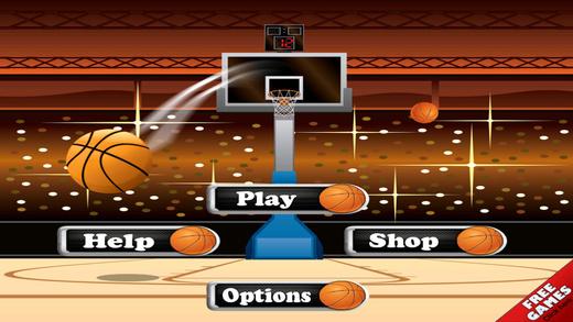 A Slam Bounce Basketball Toss and Dunk - Fantasy Massively Slam Ball Kings Pro