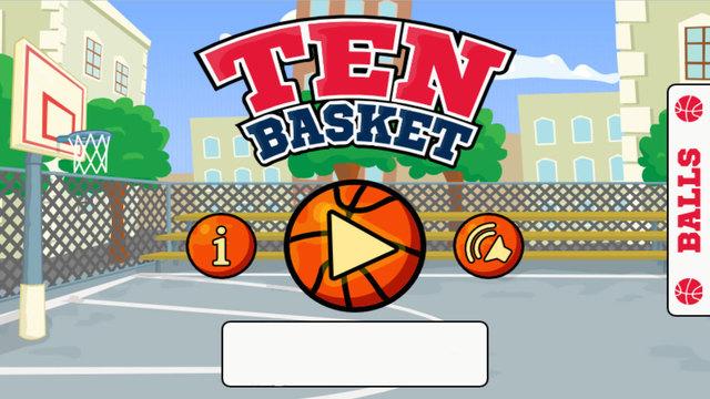 Ten Basket Ball Game