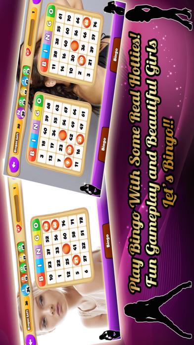 Screenshot 1 Bingo Hotties — Играть в бинго с чувственным и Эротические Девушки