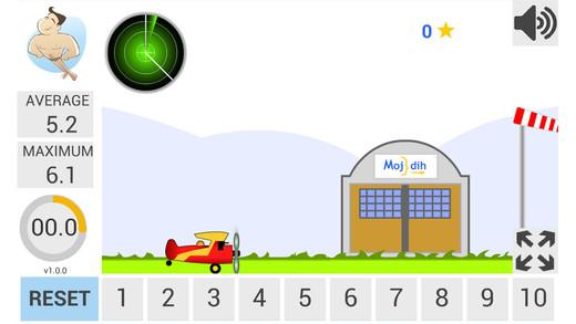 Plane Breathing Games