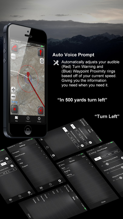 how to turn on voice gps on iphone 6