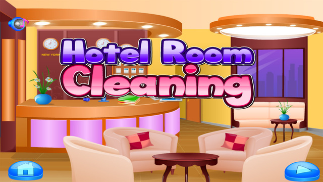 Hotel room cleaning - games for girls